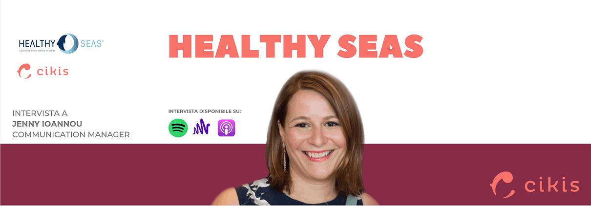 Jenny Iannou, Communication Manager di Healthy Seas