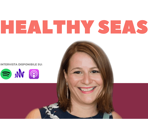 Jenny Iannou, Communication Manager di Healthy Seas