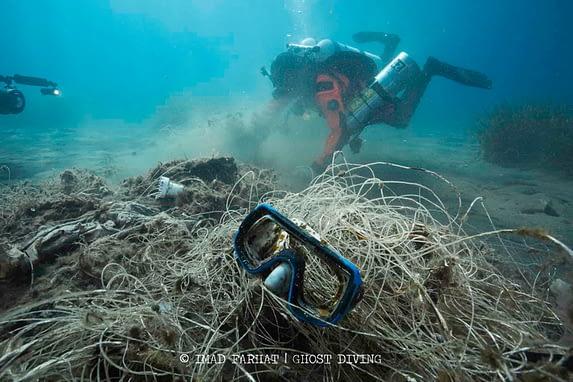 Healthy Seas recovering fishing nets